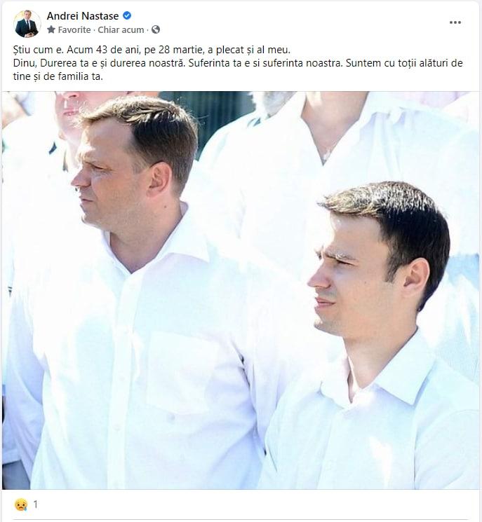 Doliu în familia deputatului PPDA, Dinu Plîngău. Acesta și-a pierdut cea mai apropiată persoană