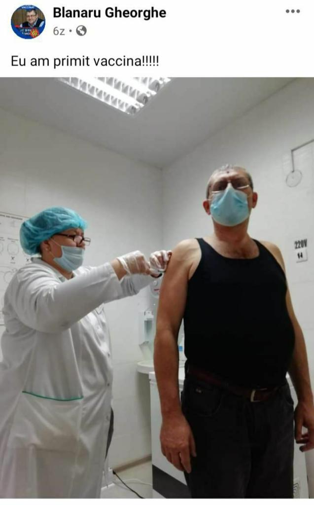 SCANDALOS// Funcționari și membri ai PAS, vaccinați înaintea medicilor